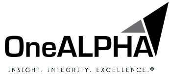 Image of OneAlpha logo